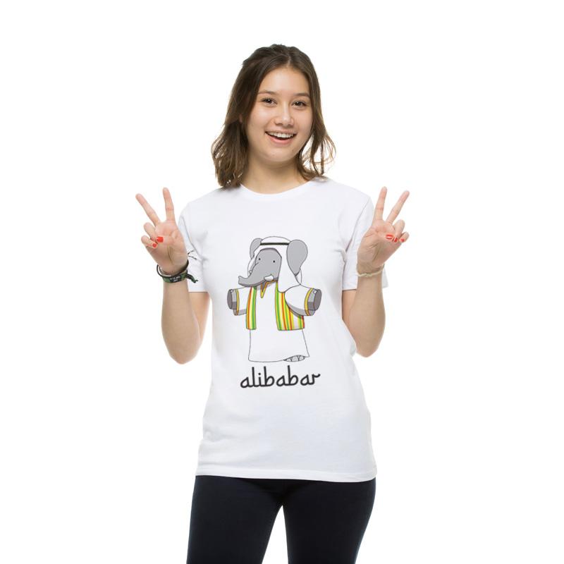 T-shirt femme Alibabar
