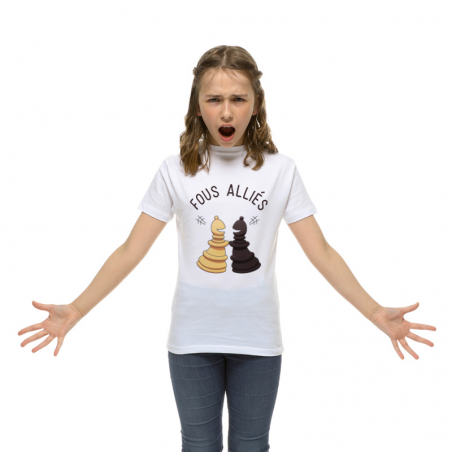 T-shirt enfant Fous alliŽs