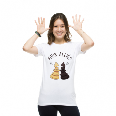 T-shirt femme Fous alliŽs
