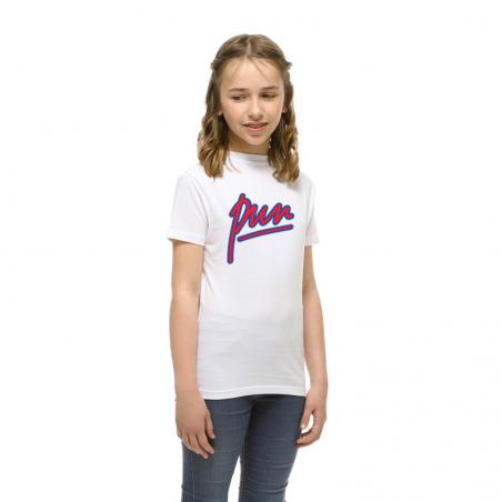 T-shirt enfant Rouge et bleu