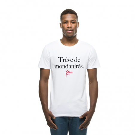 T-shirt homme Trves de mondanitŽs
