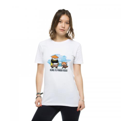 Kung Fu Panda Roux T-shirt femme