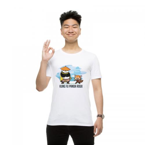 T-shirt homme Kung Fu Panda Roux