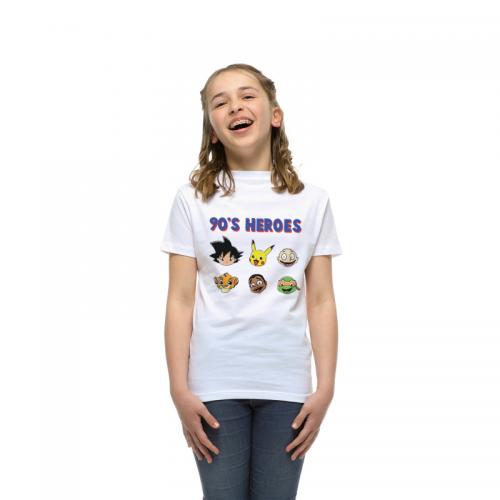 T-shirt enfant 90's Heroes