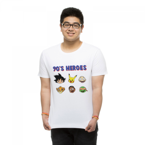 T-shirt homme 90's Heroes