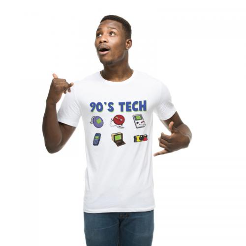 T-shirt homme 90's Tech